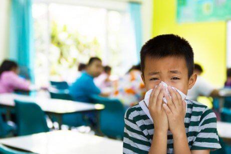 病気になりやすい子ども
