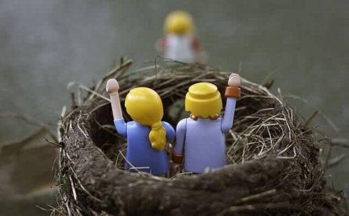巣立ち  空の巣症候群 子ども 親