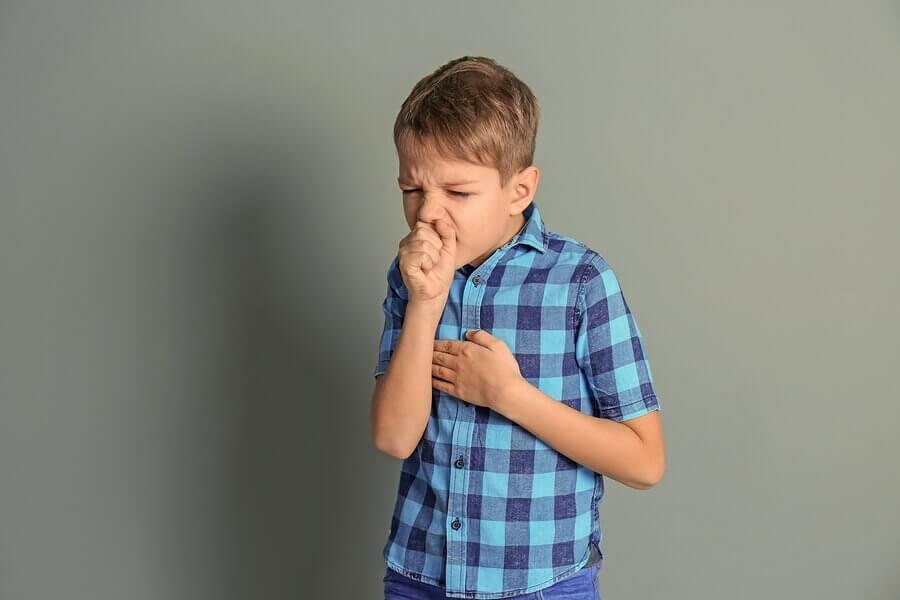 子供 息を切らせる  呼吸