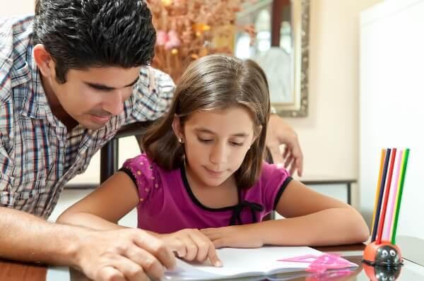 勉強を教える 子ども   1人  宿題