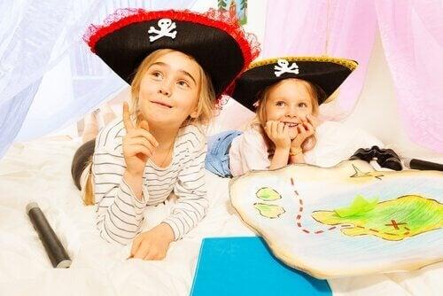 ゲームをする子ども 幼稚園児 発育アクティビティ