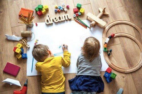 幼稚園児向きの発育アクティビティについて
