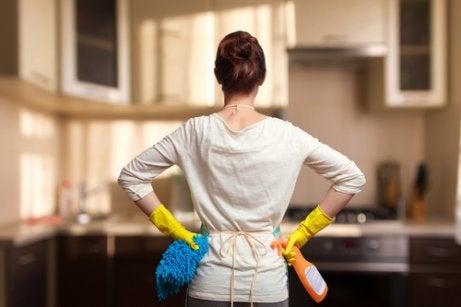 家をきれいに保つ   コツ  掃除