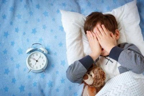子どもが家以外だと怖くて寝られないときにできるとこと