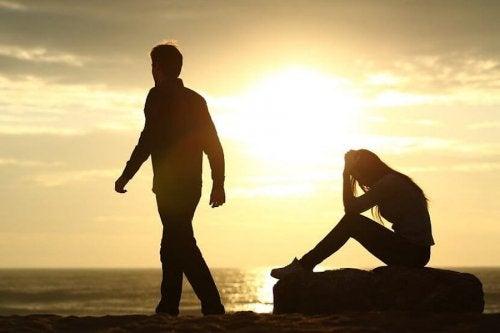 悲しい別れ 離婚 影響