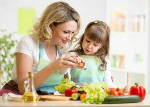 晩御飯を作りながらお子さんを楽しませてみよう!