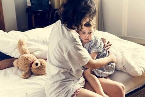 子どもが悪夢を見た時どうしたらいいのでしょうか?