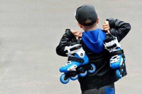 インラインスケート を簡単に子どもに教えるために
