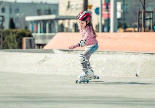 インラインスケート を簡単に子どもに教える方法