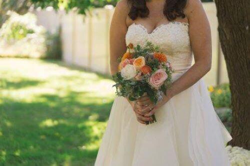 結婚式 ドレス 白