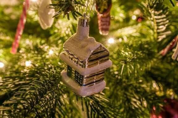 クリスマス 庭 飾りつけ
