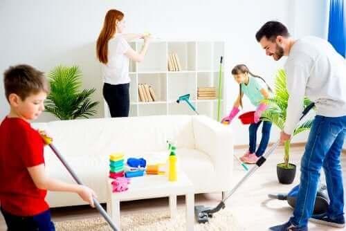 家事 を手伝うように子どもを動機付ける方法とは