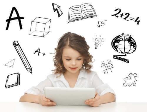 子どもにピッタリの 教育アプリ