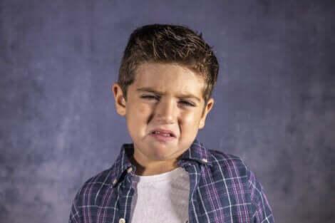 泣く子供 恐怖心の克服